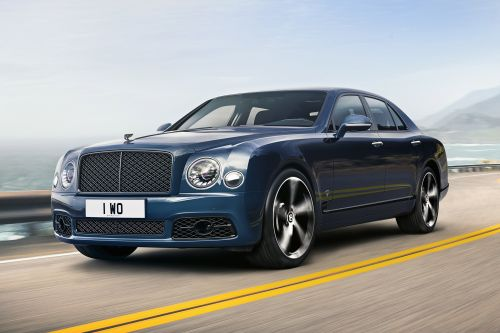 Time called on Bentley Mulsanne with run-out 6.75 special edition