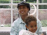 Alicia Keys discusses the rewards of motherhood and her 'chill' plans for holidays 'safe at home'