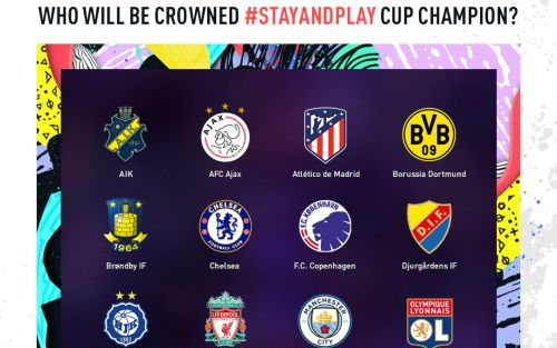 EA Sports brings Manchester City vs Liverpool to screens in Fifa 20 'Stay and Play Cup'