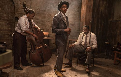 Here's the first look at Chadwick Boseman's final film, 'Ma Rainey's Black Bottom'