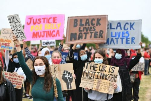 Thousands join Black Lives Matter demo in Hyde Park after George Floyd killing