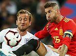 Sergio Ramos is braced for a testing night against Harry Kane