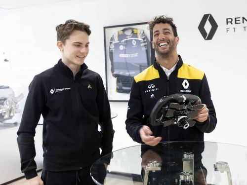 Webber 'looking at 2023' for Piastri F1 drive