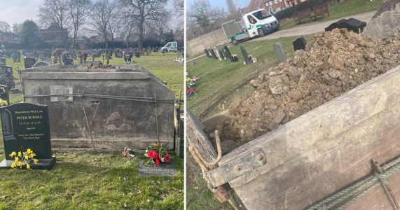 Council parks skip over mum's grave and 'tosses ornaments like an old rag'
