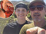 Tom Holland takes a hike with Robert Downey Jr. amid Spider-Man studio drama between Disney and Sony