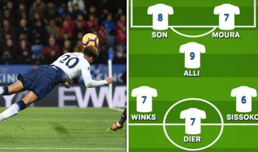 Tottenham player ratings vs Leicester: Son Heung-Min scores, Dele Alli SHINES without Kane