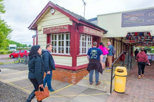 World's smallest pub reopens but no punters are let in due to social distancing