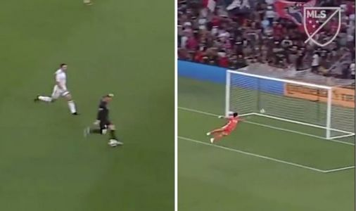 Wayne Rooney scores THIRD career goal from his own half with DC United stunner