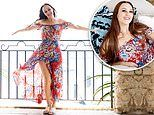 MAFS' Melissa Lucarelli oozes glamour in show-stopping summer gown