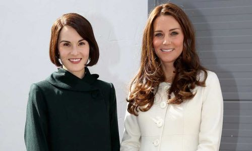 What Michelle Dockery really thought of Kate Middleton's visit to Downton Abbey set