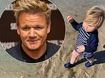 Gordon Ramsay is hilariously ignored by his lookalike toddler Oscar