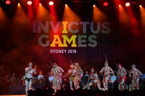 Prince Harry and Meghan open Invictus Games in a thunderstorm-hit Sydney
