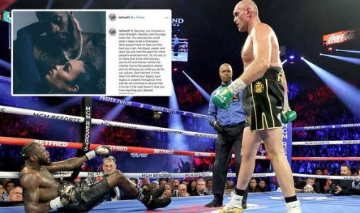 Deontay Wilder's fiancee Telli Swift confirms third Tyson Fury fight with Instagram post