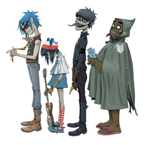 Gorillaz tease a new project, Song Machine