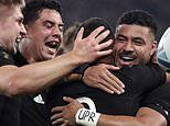 New Zealand 46-14 Ireland: All Blacks reach Rugby World Cup 2019 semi-final