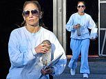 Jennifer Lopez hints new music is on its way as she makes low-key departure from LA recording studio