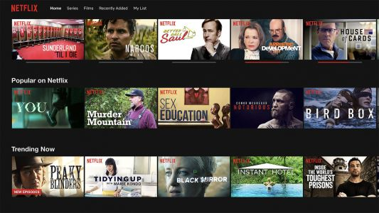 Netflix is testing price rises for UK customers
