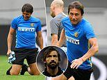 Antonio Conte admits seeing his former player Andrea Pirlo named Juventus boss makes him 'feel old'