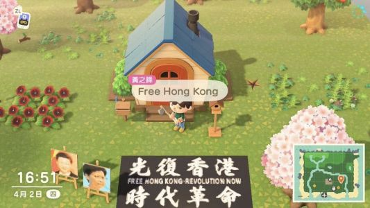 Some 'Animal Crossing' players in China are using the game to protest government policies, and now the Chinese government is banning the game