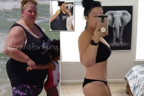 Mum-of-five loses 16 stone in a year after becoming too heavy for the scales