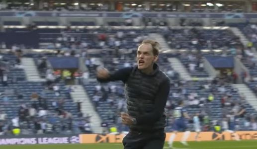 : The up-close view of Chelsea's players and coaches through the full 90 minutes of Champions League final