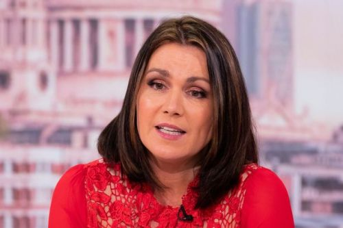 Susanna Reid jokes she can't fit into old dress thanks to lockdown weight gain