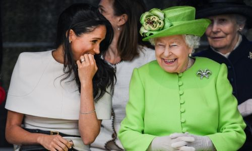 The Queen wishes Meghan Markle a happy birthday - see her message