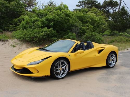 The $397,000 Ferrari F8 Spider is a majestic summary of everything great that the Italian carmaker can do