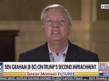 Lindsey Graham blames PELOSI for Capitol riot because 'she didn't provide enough security'
