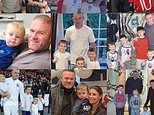 Coleen Rooney shares sweet family collage as she wishes husband Wayne Happy Father's Day