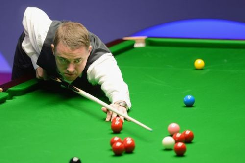 Snooker star Stephen Hendry was pulled to safety after jumping into sea on tour