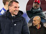 Guardiola or Klopp would NOT have been able to take Leicester top like Rodgers, insists Merson