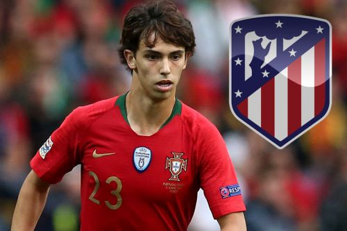 Atletico Madrid to snatch Man Utd target Joao Felix as Benfica confirm £113m bid