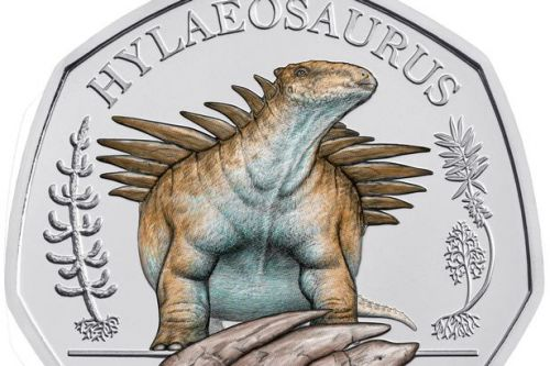 Royal Mint launches new dinosaur 50p range using augmented reality technology