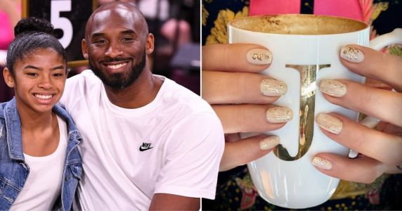 Jennifer Lopez creates nail art tribute to Kobe and Gianna Bryant for heartbreaking memorial