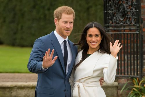 Meghan Markle's 'Suits' Husband Patrick Adams Joins Co-Stars In The UK Ahead Of The Royal Wedding
