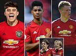 Ole Gunnar Solskjaer is building his new-look Manchester United around youth and energy