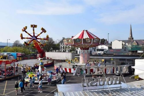 Multiple injuries after fairground ride collapses and major incident declared