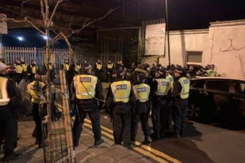 Police break up massive illegal rave under railway arches attended by 300 people