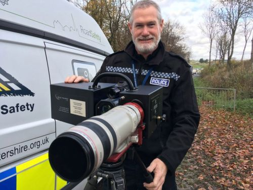 Long-range traffic cameras could catch you speeding, using your mobile phone and tailgating almost a MILE away