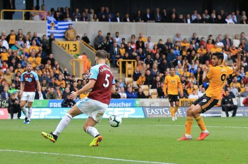 Wolves 1 Burnley 0: Raul Jimenez piles more misery on Sean Dyche to leave The Clarets searching for first win