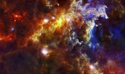 NASA shares heavenly image of stars being BORN in deep space