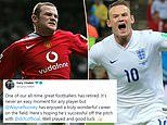 Gary Lineker leads tributes to retiring Wayne Rooney after he calls time on 19-year playing career
