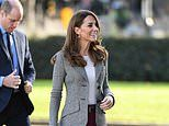 Kate Middleton is elegant as she joins Prince William for a charity event in London