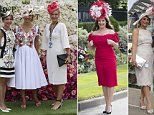Royal Ascot fashion as day one of the horse racing gets underway