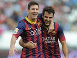 Lionel Messi's former agent reveals he was close to following Cesc Fabregas to Arsenal