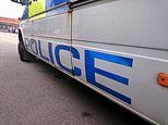 Car 'towing a caravan the WRONG WAY on the M40' crashes into several vehicles