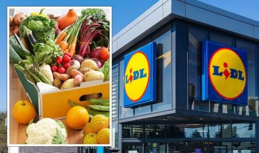 Lidl shopper raves about £1.50 'perfect' fruit and veg box - 'This would've cost me £15'