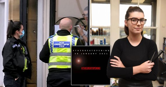 Salon which used Magna Carta to stay open in lockdown plans to reopen next week