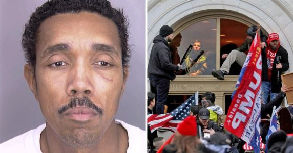 Black man who didn't go to Capitol riot gets longest sentence yet for posting online threats, blames racism
